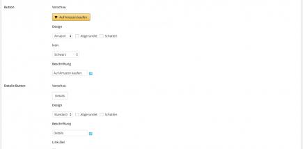 AAWP - Amazon Affiliate WordPress Plugin - Funktionen - Plugin Einstellungen Ausgabe Teil 2