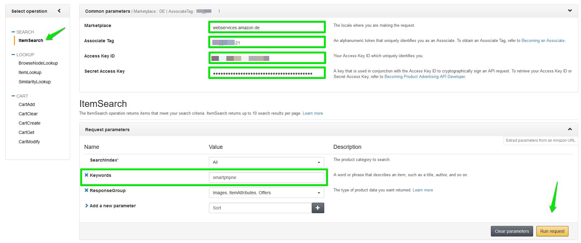 Amazon AWS Scratchpad Tool