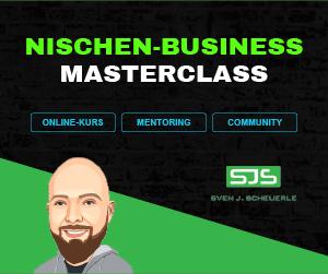 Nischen-Business – MASTERCLASS