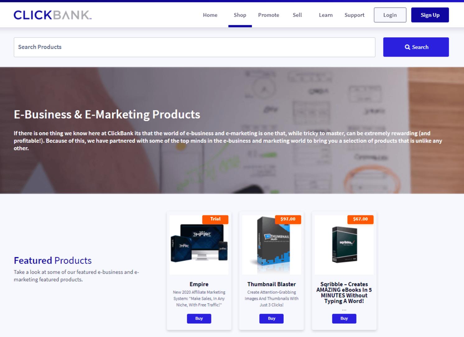 Finde heraus ob deine Nischen-Idee profitabel ist - Clickbank